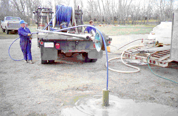 Lifewater Drilling Grouting Unused Well